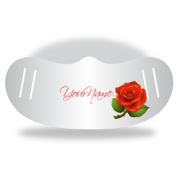Single Red Rose - Name